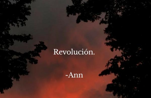Revolución. -Ann